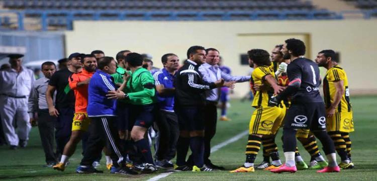 اعتراض لاعبو المقاولون العرب