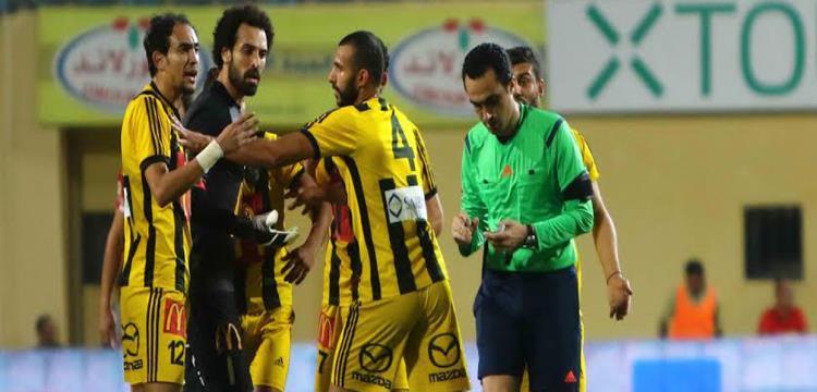 لقطة من المباراة