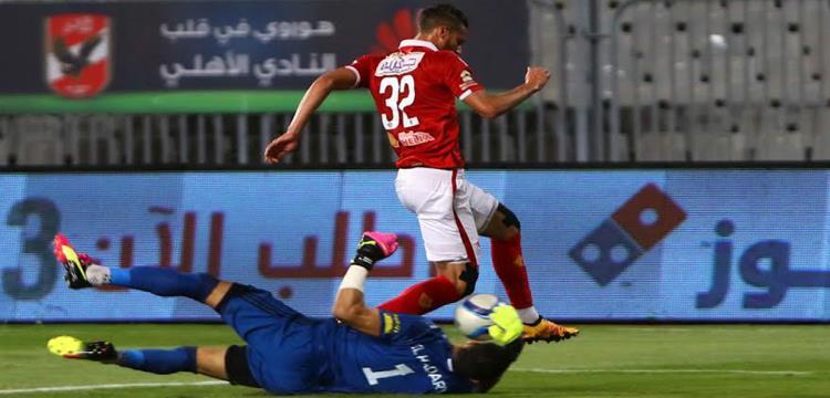 رمضان صبحي لاعب الأهلي في صورة أرشيفية