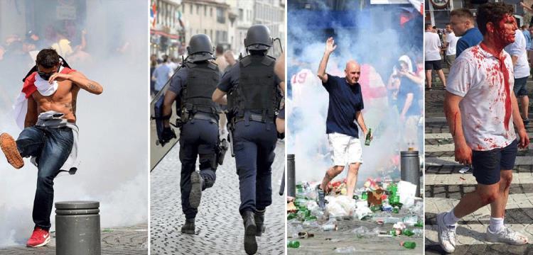 لقطات من الاشتباكات
