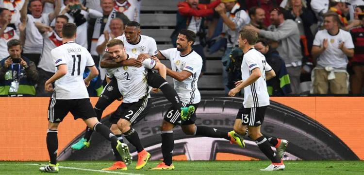 فرحة لاعبو المانيا
