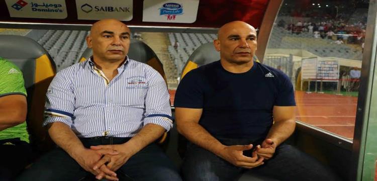 حسام حسن مع شقيقه
