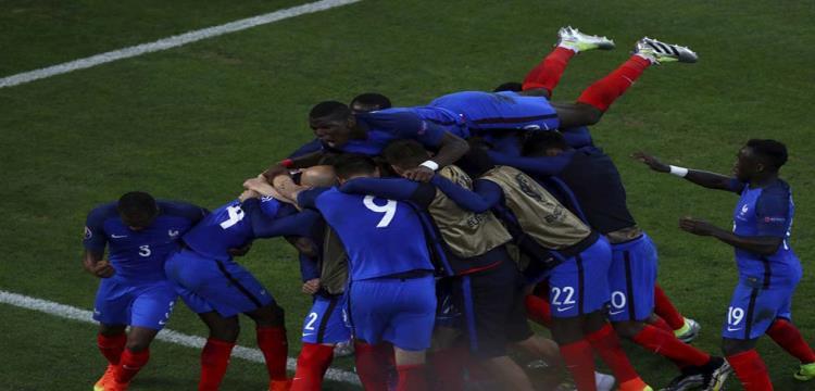 لاعبو فرنسا في نصف النهائي