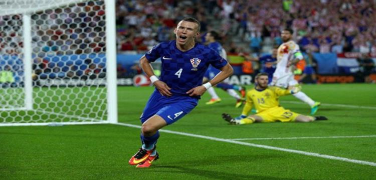 بيرسيتش سجل هدف الفوز
