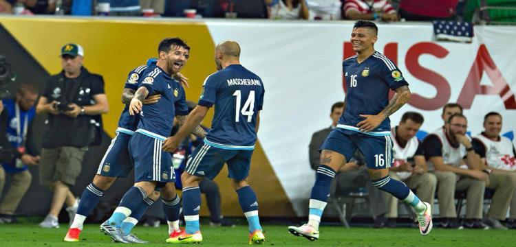 لاعبو الأرجنتين