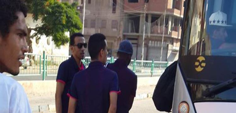 الإسماعيلي أثناء المغادرة للقاهرة