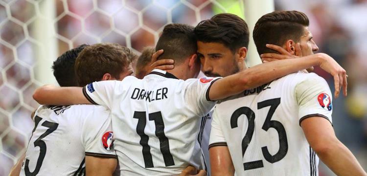 لاعبو منتخب ألمانيا