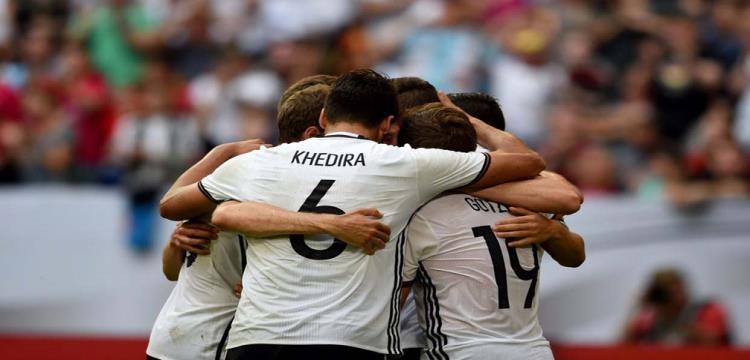 فرحة لاعبو ألمانيا