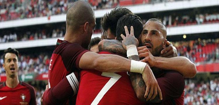 لاعبو البرتغال