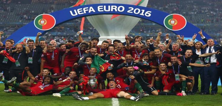 البرتغال بطل أوروبا