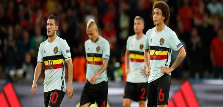 لاعبو بلجيكا في اليورو