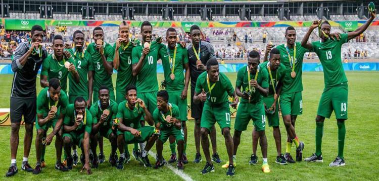 نيجيريا الاولمبي بالميدالية البرونزية