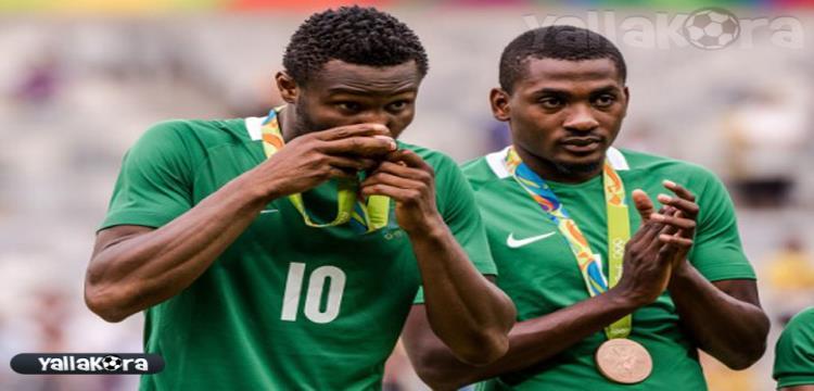 جونيور اجاي مع منتخب نيجيريا