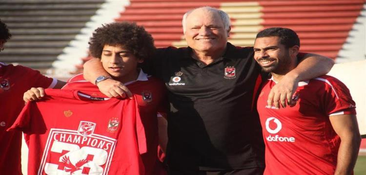 مارتن يول مع احمد فتحي وحسين السيد