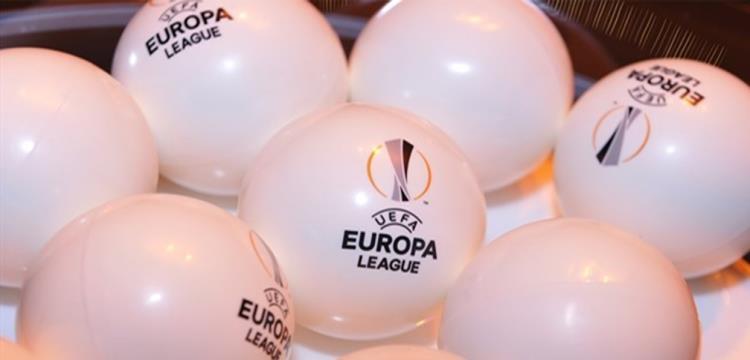 كرات قرعة الدوري الأوروبي