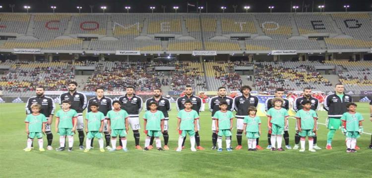 لاعبو منتخب مصر في صورة أرشيفية