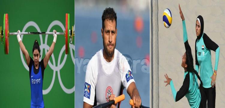 أبطال مصر في الأولمبياد