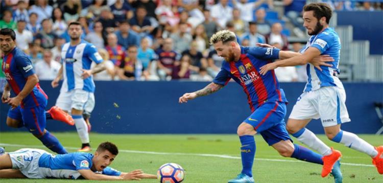 مباراة سابقة في الدوري الإسباني