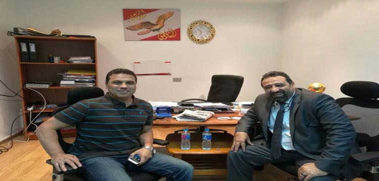 حسام البدري ومجدي عبدالغني