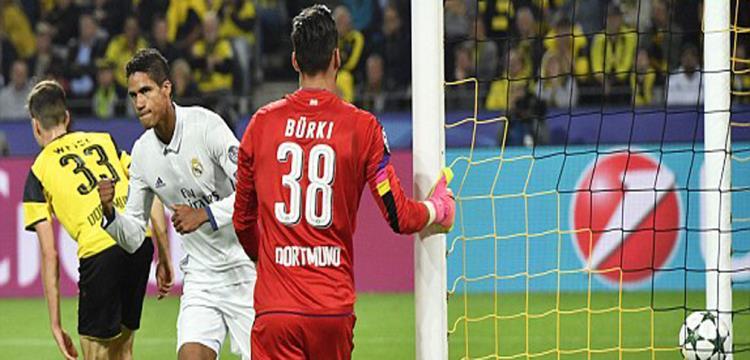 فاران سجل الهدف الثاني لريال مدريد