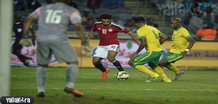 محمد صلاح أمام جنوب افريقيا