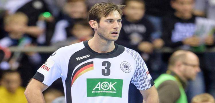 جينشماير قائد المنتخب الألماني لكرة اليد