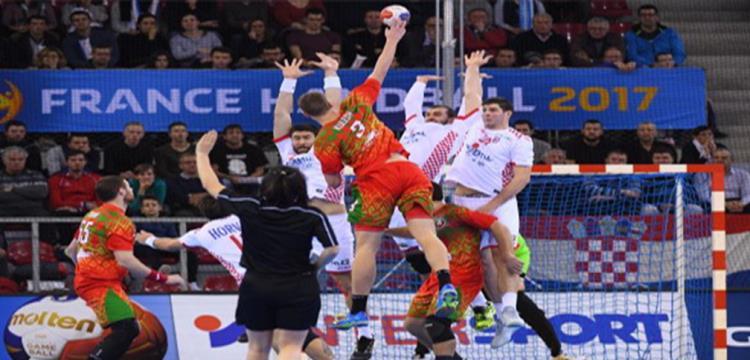 لقطة من مباراة كرواتيا وبيلا روسيا
