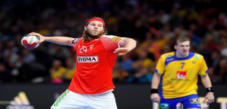 من مباراة الدنمارك والسويد