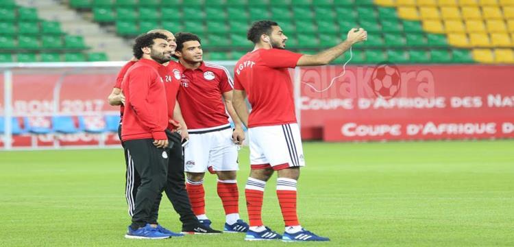 مصر تعاين ملعب مباراة مالي (تصوير: فريد قطب)
