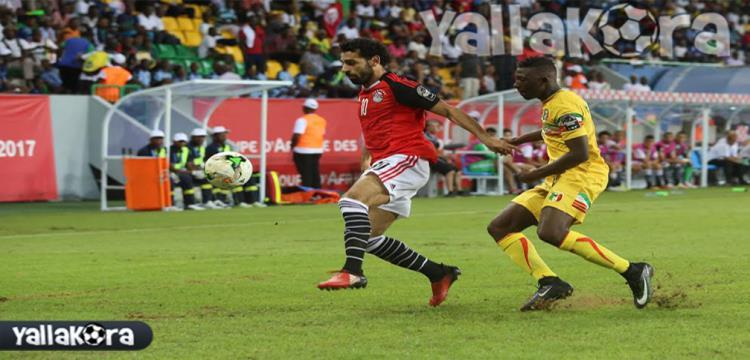 من مباراة مصر ومالي - تصوير: فريد قطب (الجابون)