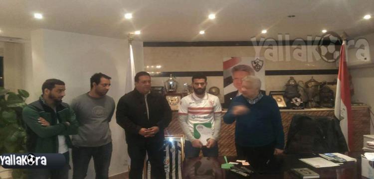 باسم مرسي مع مرتضى منصور