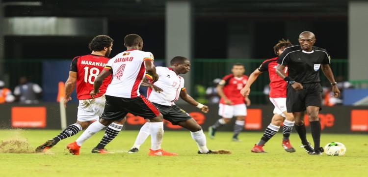 مصر وأوغندا في مباراة سابقة