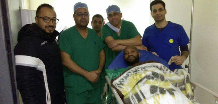 شيكابالا في المستشفى قبل الجراحة