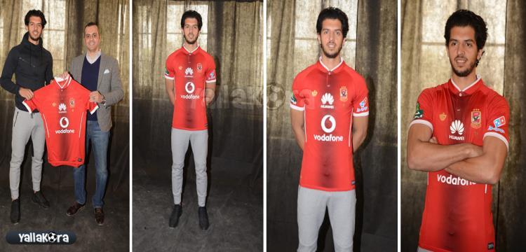عمرو بركات بقميص الأهلي