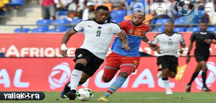 من مباراة الكونغو وغانا