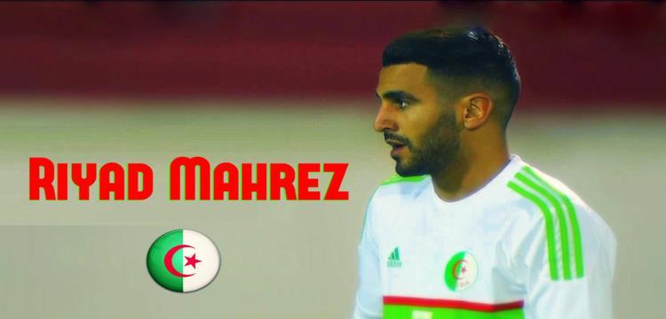 رياض محرز نجم الجزائر المتوج بجائزة أفضل لاعب أفريقي