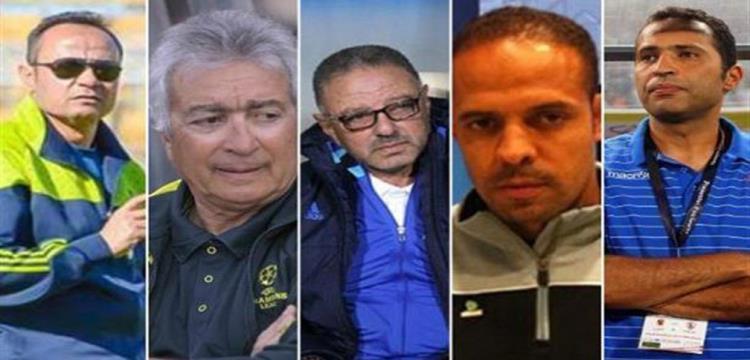 مدربو الدوري المصري