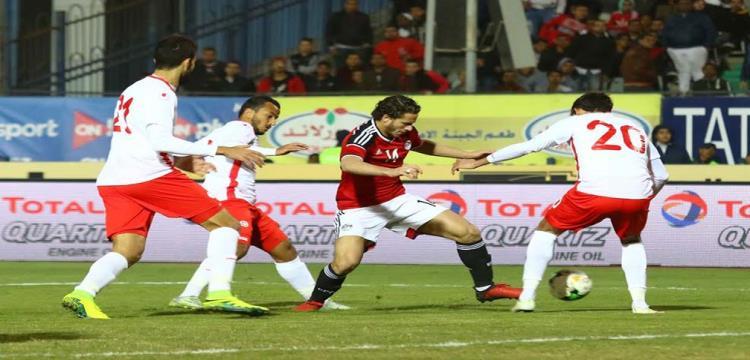 تونس خسرت من مصر ودياً قبل كأس الأمم الأفريقية