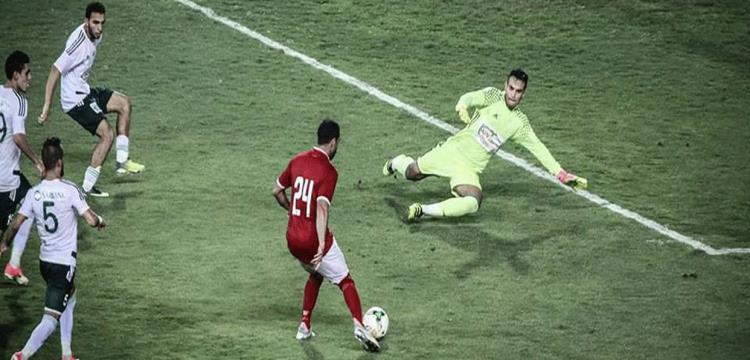 فتحي سجل هدف الفوز في أخر مواجهة بين الفريقين