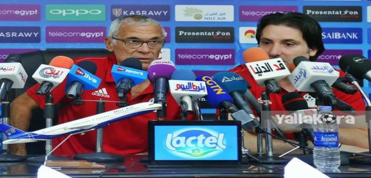 من المؤتمر الصحفي.. تصوير: علاء القصاص