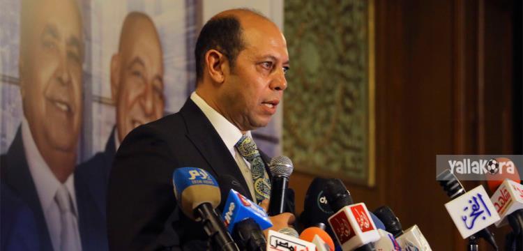 أحمد سليمان المرشح لرئاسة الزمالك