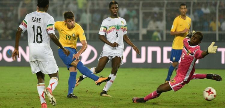 من مباراة البرازيل ومالي