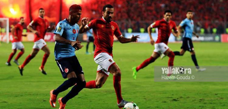 مباراة الذهاب انتهت (1-1) في برج العرب