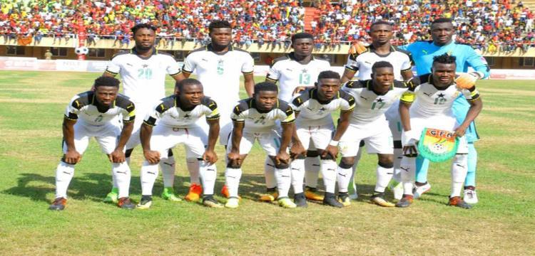 غانا في مباراة اوغندا
