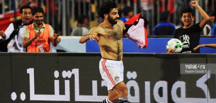 صلاح تألق أمام الكونغو وساهم في تأهل مصر للمونديال