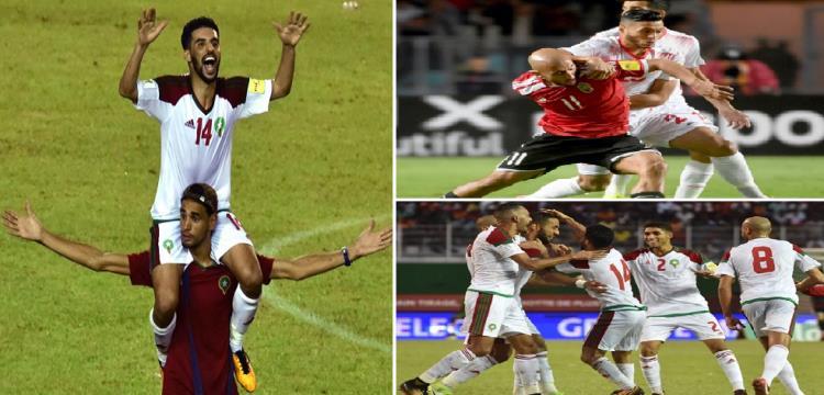 تأهل المغرب وتونس لكأس العالم
