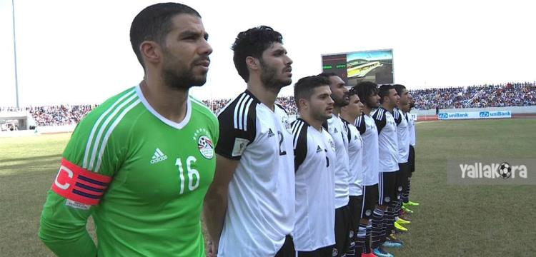من مباراة غانا ومصر
