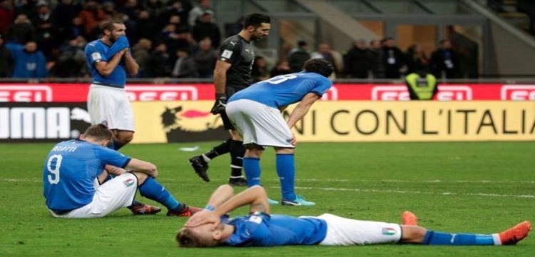 إيطاليا تتحسر على فشل التأهل لمونديال روسيا