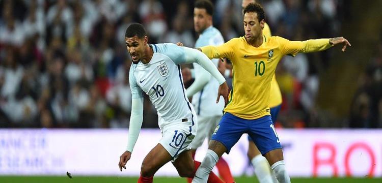 البرازيل وانجلترا