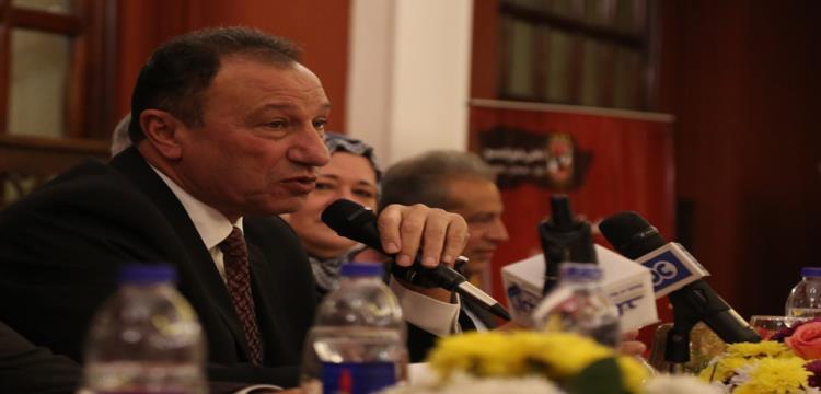 محمود الخطيب المرشح لرئاسة الأهلي